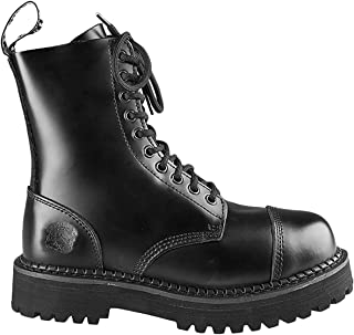 Grinders Mens Bulldog Leather Boots