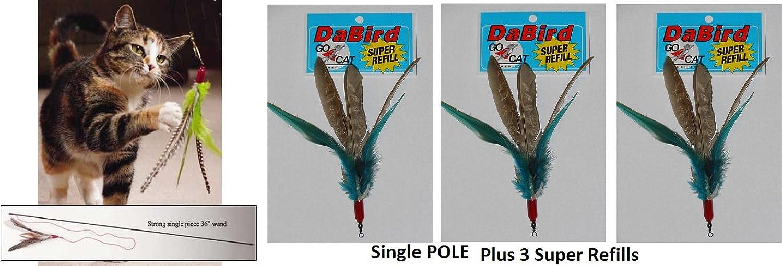 Da Bird Single Pole (36) Plus 3 Super Guinea Refills by Da Bird
