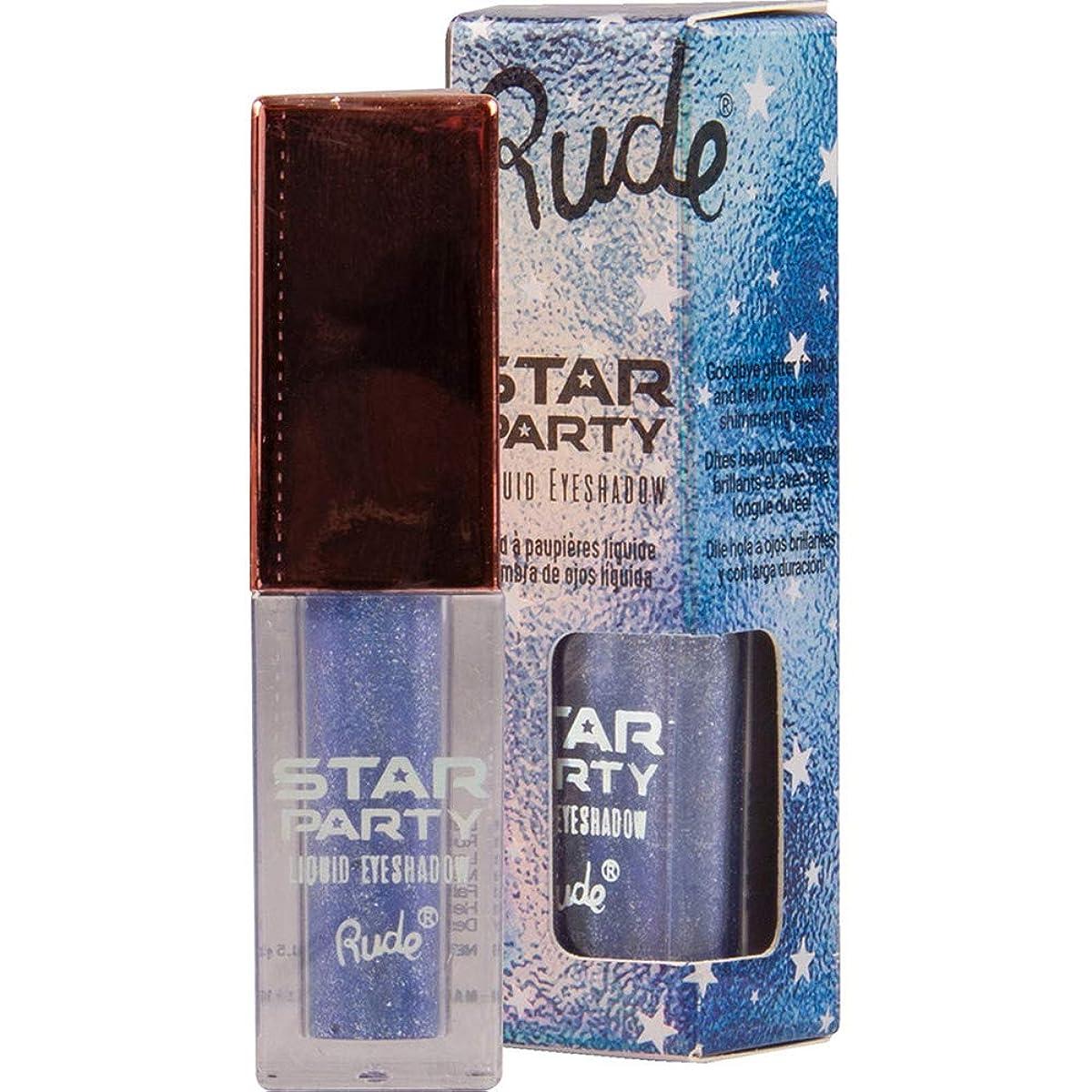 島人差し指独立RUDE Star Party Liquid Eyeshadow - Falling Star (並行輸入品)