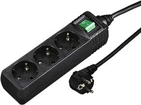 Waytex 52113 Multiprise /électrique avec c/âble 4 prises 1,5 m Noir