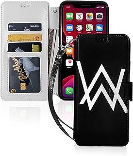Iphone ケース 互換性のある 手帳型 レザー Alan Walker アラン?ウォーカー 財布型 携帯ケース カード収納 スタンド機能 ストラップ付き 現金収納 ワイヤレス充電 マグネット式 耐摩擦 人気. AOI-10242 IPHON...
