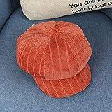 wtnhz Articles de Mode Béret Automne et Hiver de Style Britannique littérature et Art rétro Chapeau octogonal pour Enfants Chapeau de Peintre bébé Chapeau de Mode Cadeau de Vacances