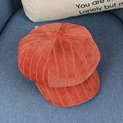 wtnhz Artículos de Moda Boina otoño e Invierno Estilo británico Literatura y Arte Retro Sombrero Octogonal para niños Sombrero de Pintor de bebé Sombrero de modaRegalo de Vacaciones