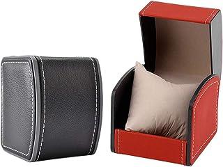 Revesun Pr/ésentoir//coffret//bo/îte /à montre 12 montres coffret montre cuir homme