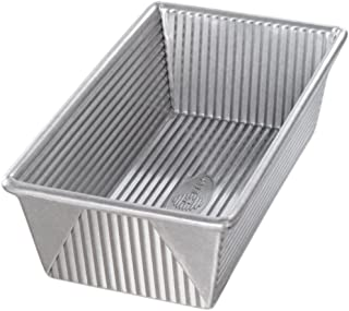 USA Pan Loaf Pan, Made of Aluminized Steel with Americoat, 9 x 5 x 2.75 Inch