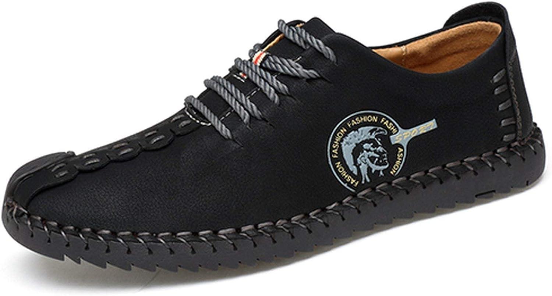 HANBINGPO Classic Comfortable Men Casual shoes Loafers Men shoes Quality Split Leather shoes Men Flats Moccasins shoes Plus Size