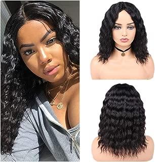 Quantum Love 100% Lace Part Virgin Human Hair Wigs Loose Deep Wave Wig Middle Part Brazilian Human Hair Wave Glueless Wig Natural Color