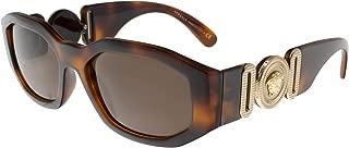 VE4361 Sunglasses 521773-53 - Havana Frame, Brown...
