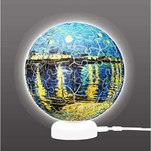 compras online de deportes GQQ 3D Esfera Luz Luz Luz De La Noche Puzzle,Creativo Manual DIY Modelo Multifuncional Decoración  comprar marca