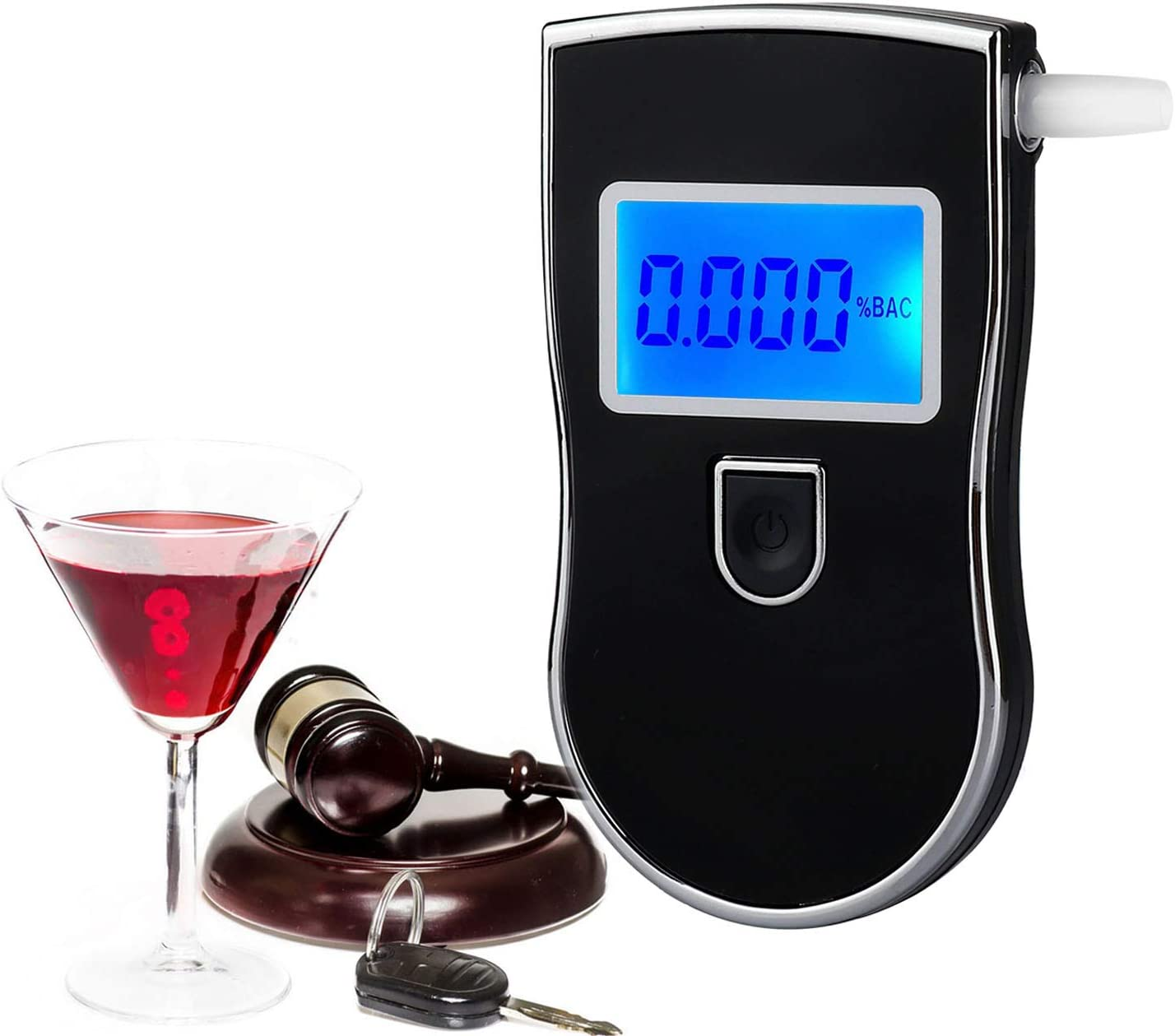 Breathalyzer Super-cheap Personal Alcohol Tester Mouthpieces with Profe 100% quality warranty 20