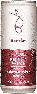 バロークススパークリングワイン赤 カベルネ/シラーズ/メルロー ケース売り 缶ワイン [ 赤ワイン 辛口 オーストラリア 250ml×24本 ]