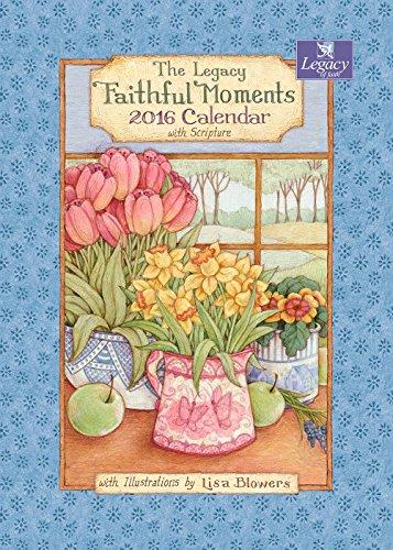 Legacy Publishing Group 2016 Pocket Calendar, Faithful Moments (PCL19728)