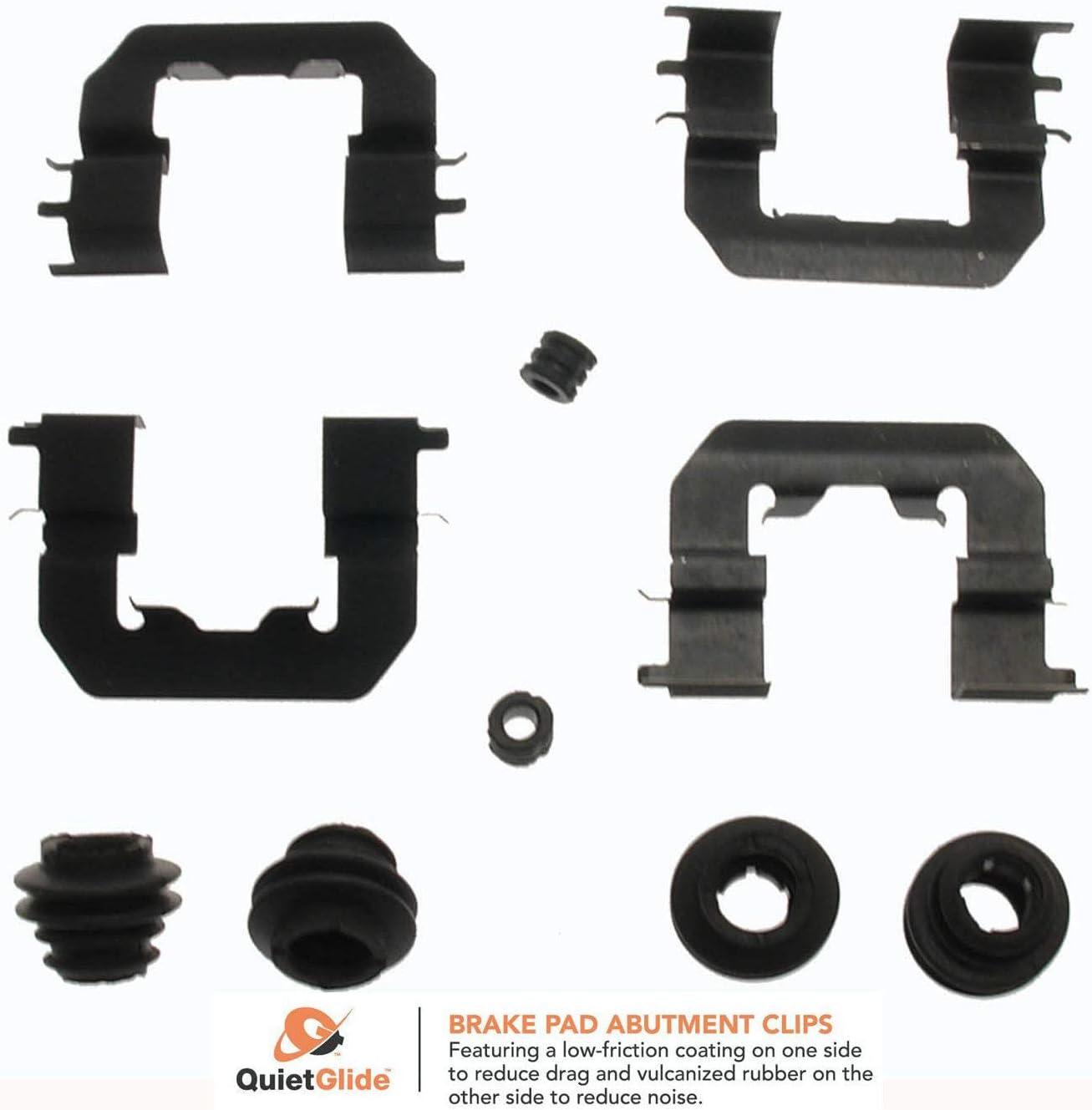 Carlson Award-winning store 13639Q Disc Kit Hardware Brake Ranking TOP20