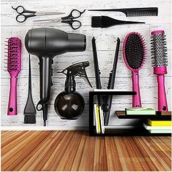 xbwy Haircut Tool Beauty Salon Wallpaper Mural Barber Shop Decor-200X140Cm