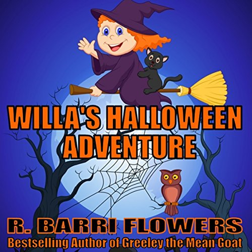 Willa's Halloween Adventure audiobook cover art