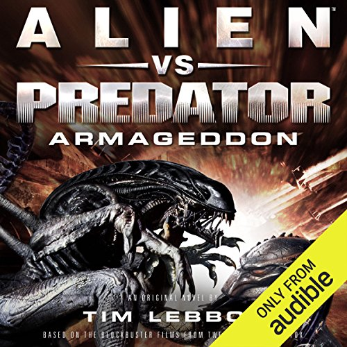 Alien vs. Predator: Armageddon audiobook cover art