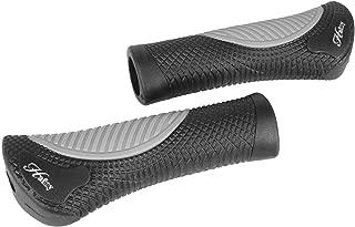 Hafny HF-152 Bicycle Mountain Bike Handlebar Grips with Bar-ends Black-Gray