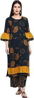 Aprique FAB Women's Cotton Blend Salwar Suit