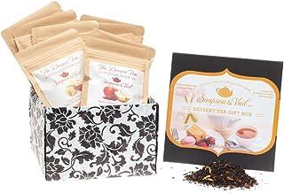 Simpson & Vail, Dessert Gift Sampler Assortment Variety Box, Loose Leaf Tea - 1 Box / 10 Packages