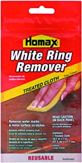 Homax Group 2236 Furniture White Ring Remover Cloth , 7in. x 11in