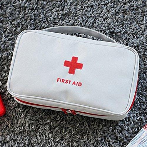 Beautyrain Portable Vide Premier Trousse de Secours Pouch Accueil Bureau médical d'urgence Rescue Voyage Case Sac