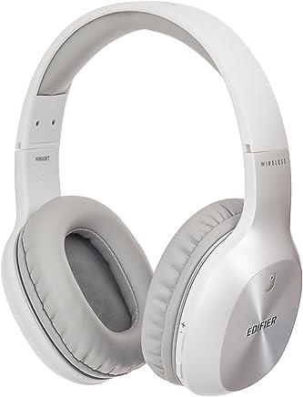 Edifier W800BT Bluetooth Headphones - Over-The-Ear Wireless Headphone, 35 Hours Long Playback, Lightweight - White