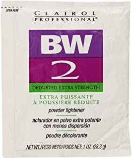 CLAIROL Professional BW 2 Dedusted Extra Strength Powder Lightener 1oz/28.3g (One Application)