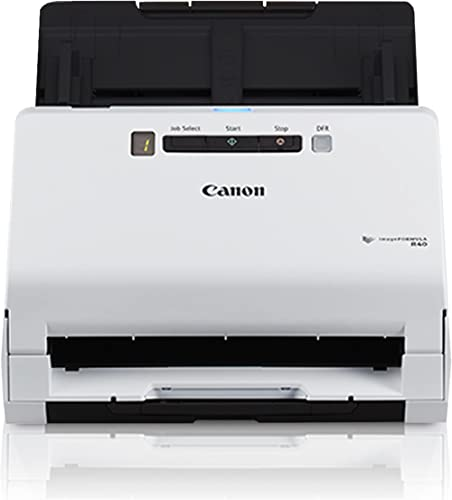 Canon imageFORMULA R40 Office Document Scanner For PC and Mac, Color Duplex Scanning, Easy Setup For Office Or Home U...