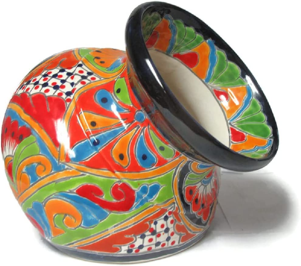 Arlington Mall Talavera Pottery Store Welcome Planter On Hand Pot Painted Small Max 70% OFF