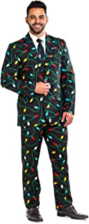 Tipsy Elves The String of Lights Suit Pants: 33