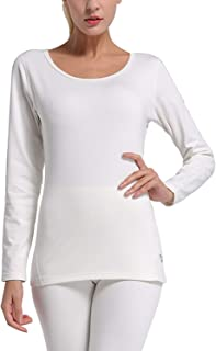 Women's Heavy Weight Thermal Shirt Tops Compression Base Layer Underwear