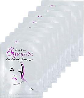Locisne Under Eye Gel Pads - 100 paar wimperverlengingspads Lints Free, wimperoogpads voor Pro Salon, individuele wimperve...