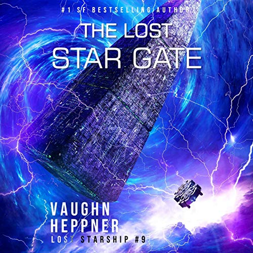 The Lost Star Gate audiobook cover art