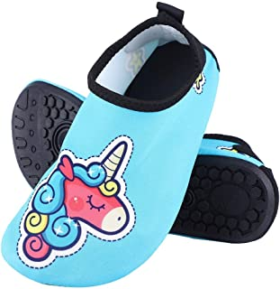 Yuanhua 1 Kids Barefoot Socks, Anti-slip Quick Dry Barefoot Socks Wading Shoes for Dive Surf Swim Beach Yoga