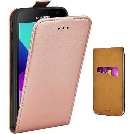 Adicase Galaxy Xcover 4 Hülle Leder Tasche Für Samsung Elektronik