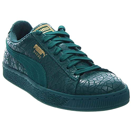 54397400 Green PUMA Shoes: Amazon.com