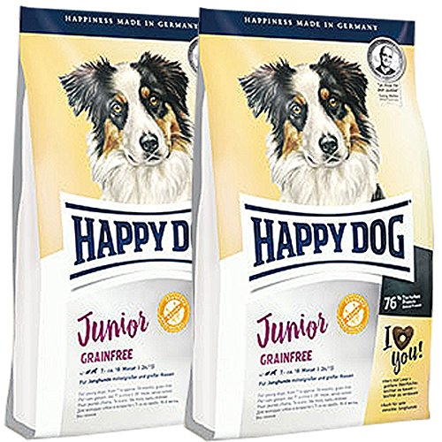 Happy Dog 2 x 10 kg Supreme Junior Grainfree