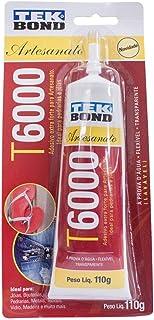 Cola Permanente P/Artesanato Tekbond T6000 110g Blister - 24357011002