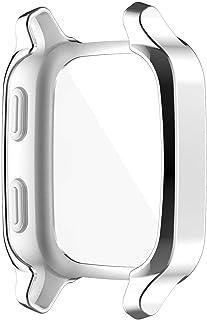 Povanjer Horloge Screen Protector, Voor Garmin Venu SQ Horloge Shell Hollow-out Beschermende Cover Overall Horloge Bescher...