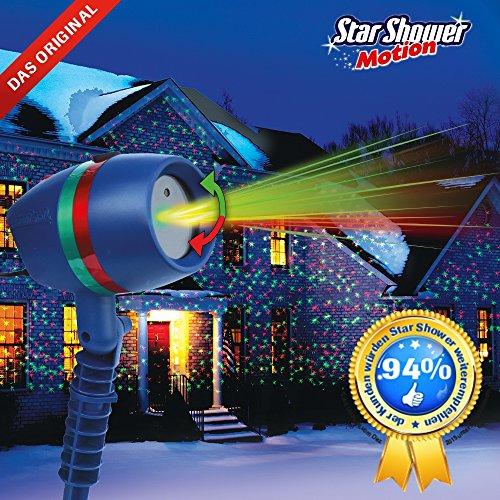Star Shower Motion inkl Fernbedienung + Spitzaufsatz das Original von Mediashop - 2