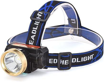 DJSkd LED Headlights Glare Night Fishing Lights Waterproof Super Bright Head-Mounted Small Rechargeable Flashlight
