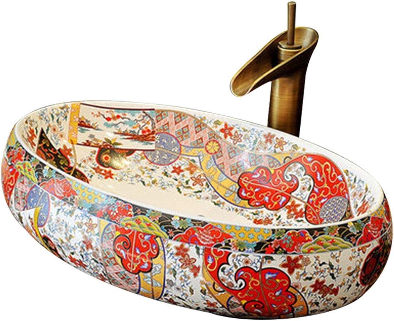 Waschpltze Waschbecken Waschbecken Im Bad Thekenwaschbecken Im Restaurant Einzelwaschbecken In Der Küche Reinigungspool (Farbe   B.Sink1+Faucet1, Größe   60  40  15cm)