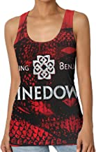 Women Shinedown Breaking Benjamin Sexy Tank Music Tops Vest Tshirts