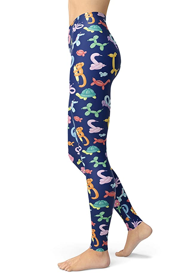 Women's Animal Printed Leggings Brushed Buttery Soft Ankle Length Skinny Pants