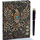 3D Vintage Tagebuch,A5 Notizbuch Liniert,Personal Organizer Planer Journal Notebook,Geburt...