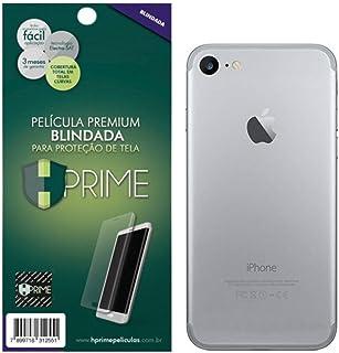 Película para iPhone 8, Hprime Curves (Blindada) - VERSO [SILICONE][TRASEIRA], Apple iPhone 8