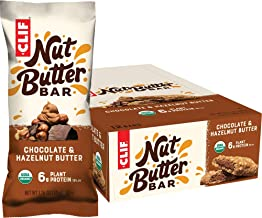 Clif Nut Butter Bar - Organic Snack Bars - Chocolate Hazelnut Butter - (1.76 Ounce Protein Snack Bars, 12 Count) (Packagin...
