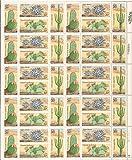 Desert Cactus Plants Sheet of 40 x 20 Cent Stamps Scott 1942-45