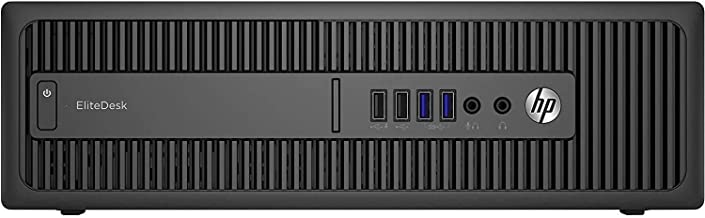HP Elitedesk 800 G1 SFF - Ordenador De Sobremesa (Intel Core I5-4570, 3,2 GHz, 16GB De RAM, Disco 480GB SSD, Sin Lector, Windows 10 Pro 64 bits) (Reacondicionado)