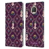 Head Case Designs sous Licence Officielle Frida Kahlo Pourpre Portraits Et Modèles Coque en Cuir à...